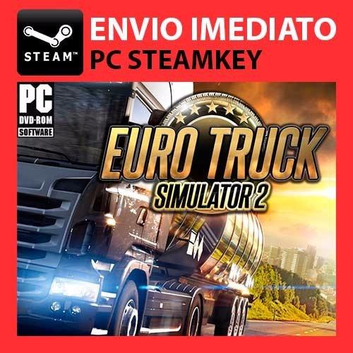 Euro Truck 2 + Going East + Bonus Steam Key Pc Original