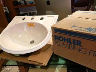 Ovalin D Empotre Cerámica Premium Kohler Nuevo A 1/2 D Costo