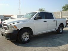 Dodge Ram Slt Crew Cab 2014 (medio Motor Para Recontruir)