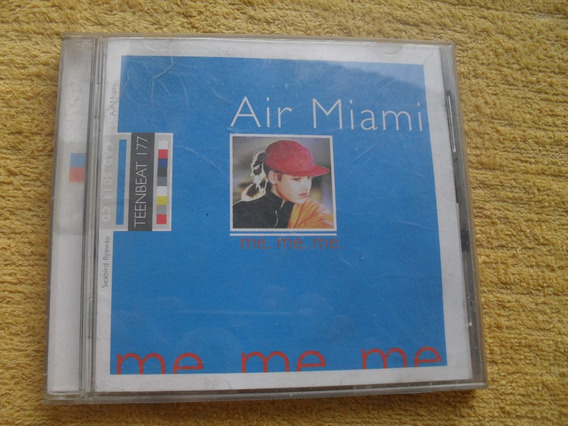 Cd-air Miami-punk-onda 2`-social-die-black-sum-green-ramones
