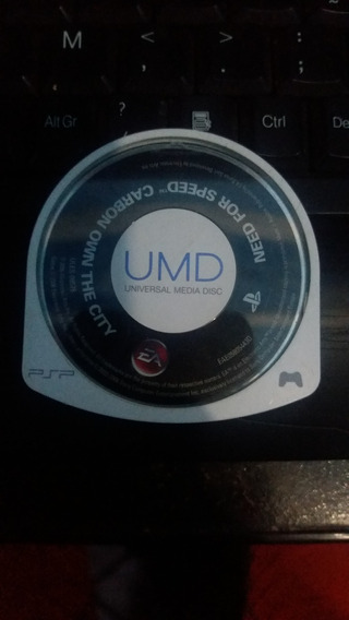 Cd De Psp (umd) Jogo Need For Speed Carbon Own The City