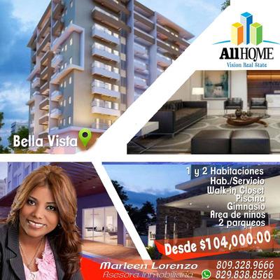Apartamento En Bella Vista Sto Dgo Distrito Nacional