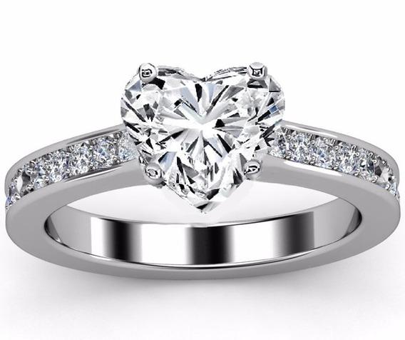 10K oro blanco sólido 0.15 CT naturales diamantes anillo de compromiso Alianza Apilable