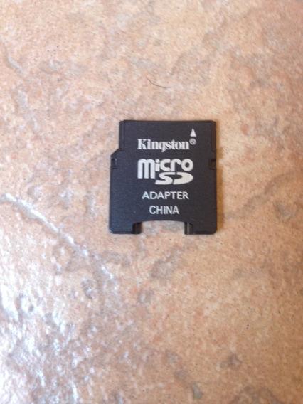 Adaptador Micro Sd Para Cartão Mini Original Kingston