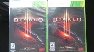 Diablo Iii Xbox 360 Nuevo Sellado
