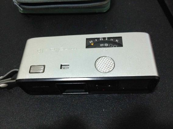 Antiga Máquina Fotográfica Minolta 16 Portátil