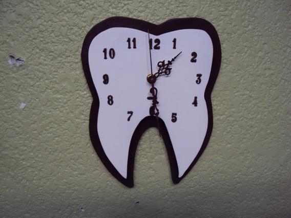 Reloj De Pared Para Odontologo, Dentistas