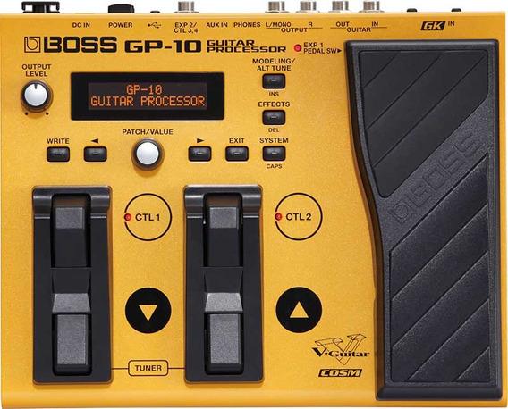 Pedaleira Boss Gp10gk Sintetizador Oferta! Promoção!