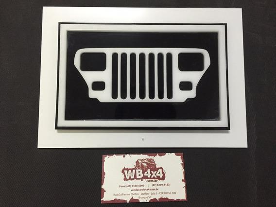 Quadro Decorativo Jeep Yj