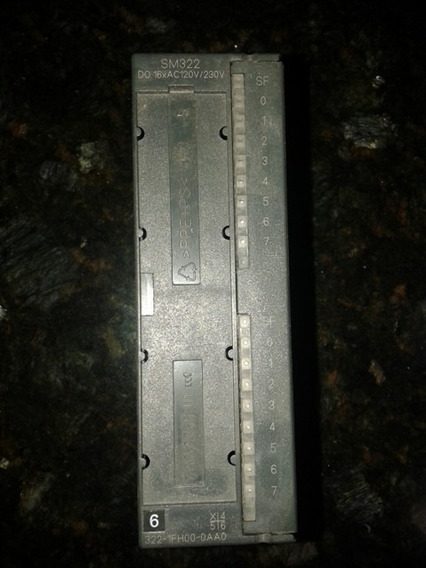 Siemens S7-300 6es7322-1fh00-0aa0 --- S7-300, Mód Sal Do16