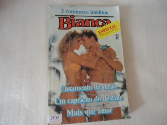 Livro 3 Romances Inéditos Bianca