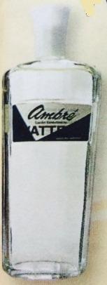 Imagen 1 de 1 de Colonia Watteau Ambré 440 Ml Envase De Vidrio