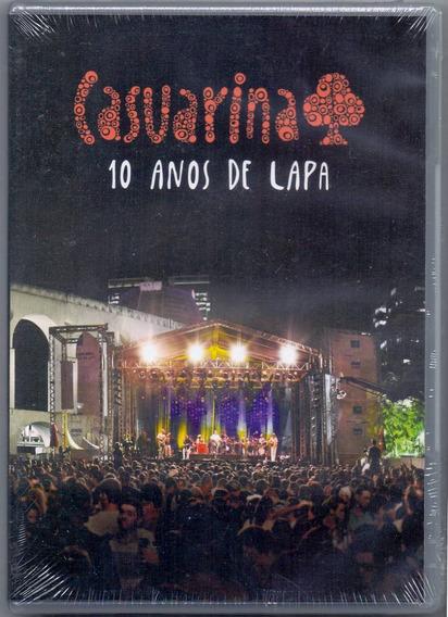 Dvd Casuarina - 10 Anos De Lapa - Novo***