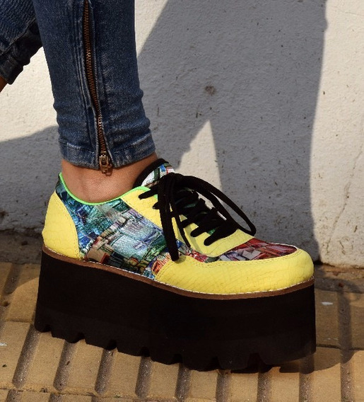 Zapatillas Plataforma Goma Eva Dama Mujer