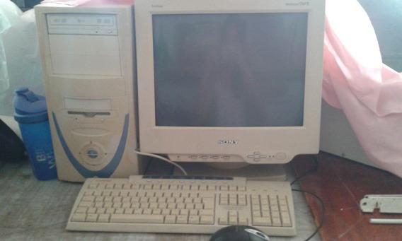 Computador (pc) Sony Com Cpu, Teclado E Mouse