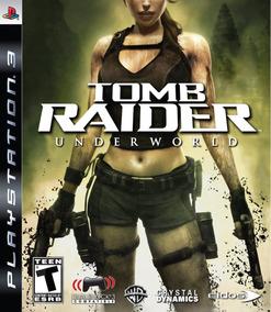 Tomb Raider: Underworld - Ps3 - Lacrado + Frete Grátis!