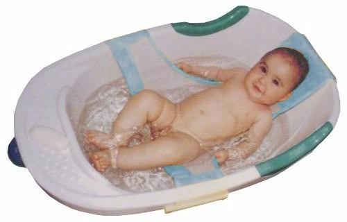 cf8b08e54 Rede Proteção Para Banho Banheira Seguro Bebê Neném Azul - R$ 29,90 em  Mercado Livre