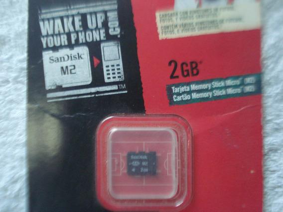 Cartão M2 2gb Sandisk
