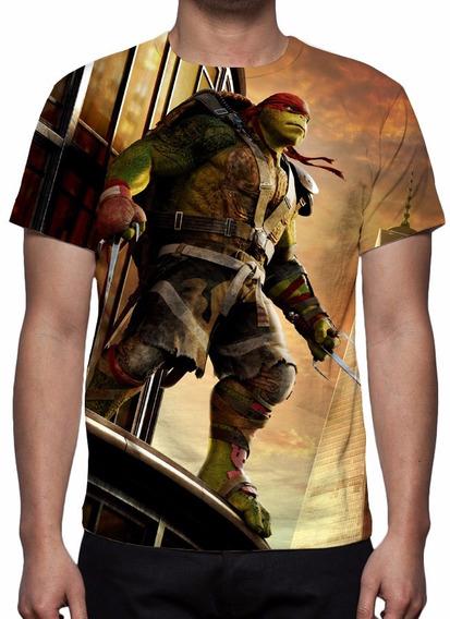 Camisa, Camiseta Tartarugas Ninja - Raphael Mod 02
