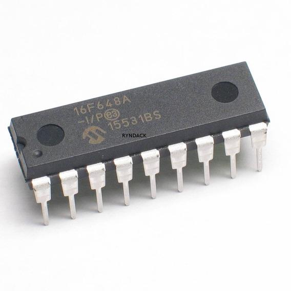 Pic16f648a-i/p Microcontrolador Pic Microchip De 8 Bits Pic