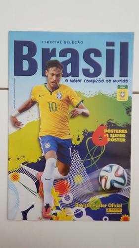 Revista Poster Da Seleção Brasileira