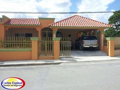 Casa De Venta En Higuey, Repu´blica Dominicana Cv--057