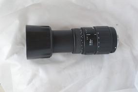 Lente Sigma Af 70 - 300mm 1:4 - 5.6 Dl