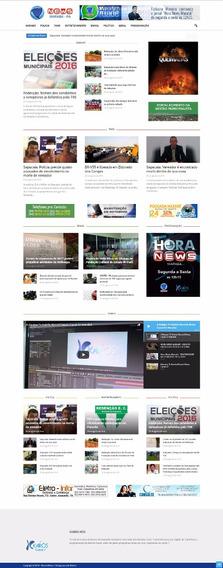 Script Site Jornal Portal De Noticias 100% Funcional Em Wp