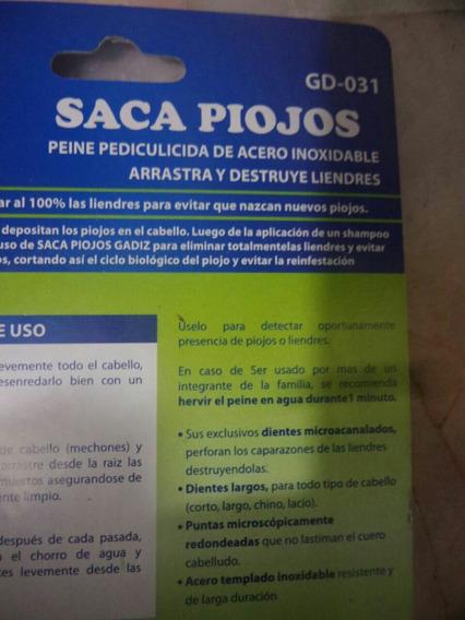Peine Saca Piojos Y Liendres El Mas Grande Y El Mejor