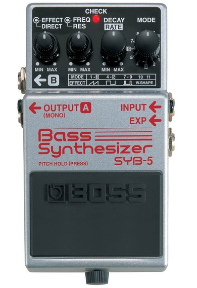 Pedal Boss Syb5 Bass Synthesizer Na Cheiro De Música Loja !!