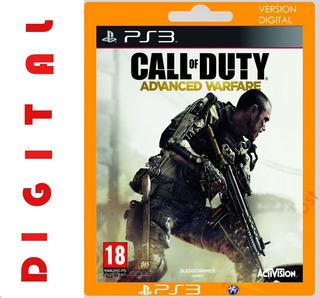 Call Of Duty Advance Warfare Ps3 Digital Leer Descripcion