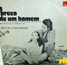 O Preço De Um Homem 1972 Trilha Da Novela Da Rede Tupi Lp