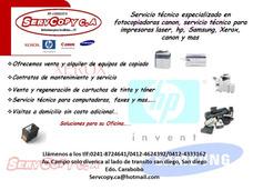 Servicio Técnico Para Fotocopiadoras Canon Valencia Carabobo