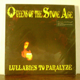 Queens Of The Stone Age Lullabies To Paralyze(vinilo Nuevo)