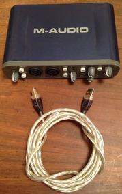 M Audio Fast Track Pro 4x4 Mobile Usb Usada