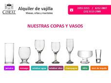 Alquiler De Vajilla, Sillas, Mesas Y Manteles
