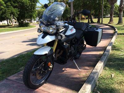 Triumph Motocicleta Doble Proposito Triumph Tiger 800 2014