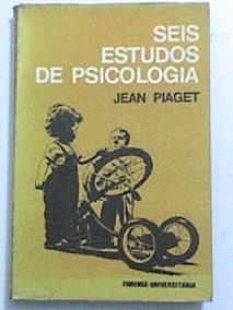 Livro: Seis Estudos De Psicologia - Jean Piaget