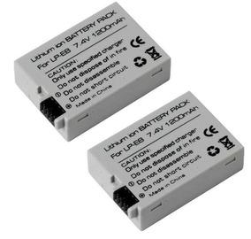 Lote Duas Baterias Lp-e8 Para Canon Rebel T2i T3i T4i T5i