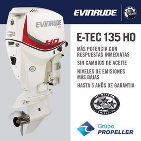 Motor Nautico Fuera De Borda Evinrude Etec 135ho Hp 2017 0km