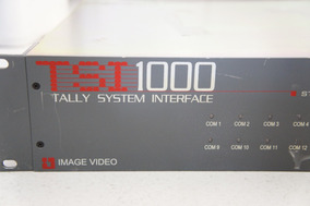 Tsi 1000 Tally System Interface Imagem Video