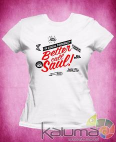 Camiseta Better Call Saul Breaking Bad 100% Poliéster - 2052