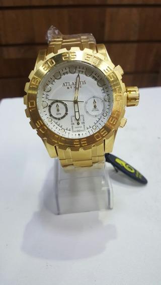 Relógio Social Masculino Marca Famosa Barato 100% Funcional