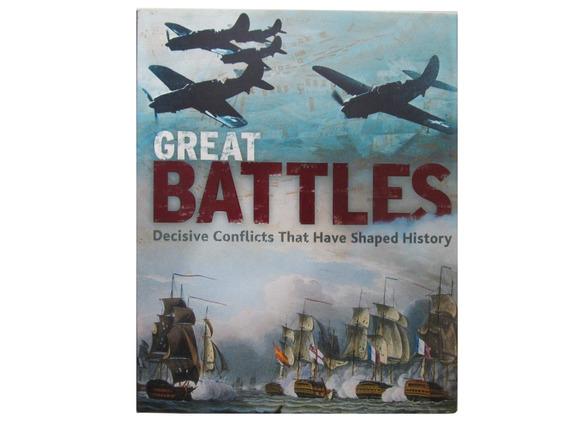 Livro Em Inglês - Great Battles