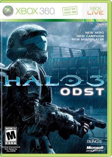 Halo 3 Odst Fisico Nuevo Xbox 360 Dakmor