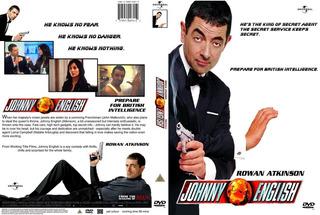 Dvd Mr. Bean En Johnny English Agente Secreto Rowan Atkinson