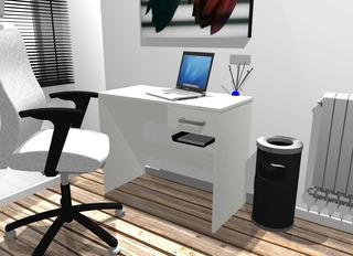 Escritorio / Mesa De Pc / Mueble De Fabrica 003-soff -600