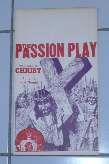 The Passion Play (a Vida De Cristo) Cartaz Original 1934