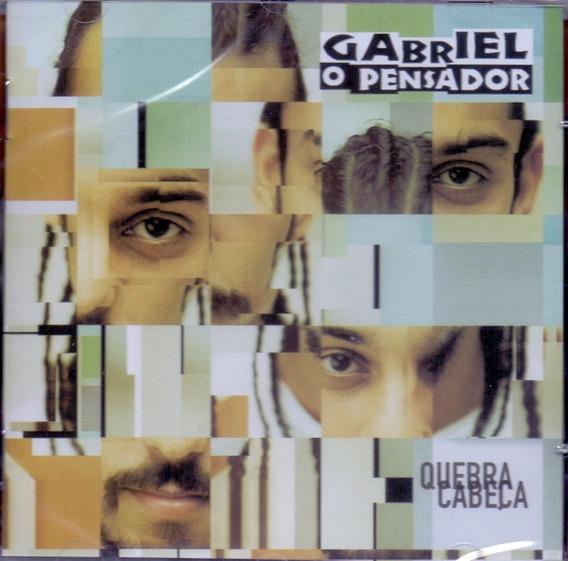 Cd Gabriel O Pensador - Quebra Cabeça - Novo***