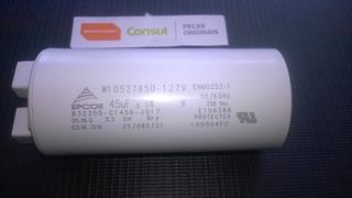 Capacitor Lavadora Brastemp/ Consul Electrolux 45uf 127volts